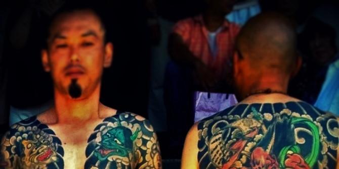 Yamaguchi Gumi Gangster Jepang Terbesar di Dunia (Ilustrasi). Foto: Dok. kaskus