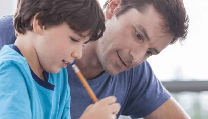 Pendidikan Keluarga bagi anak. (Foto: lustrasi)