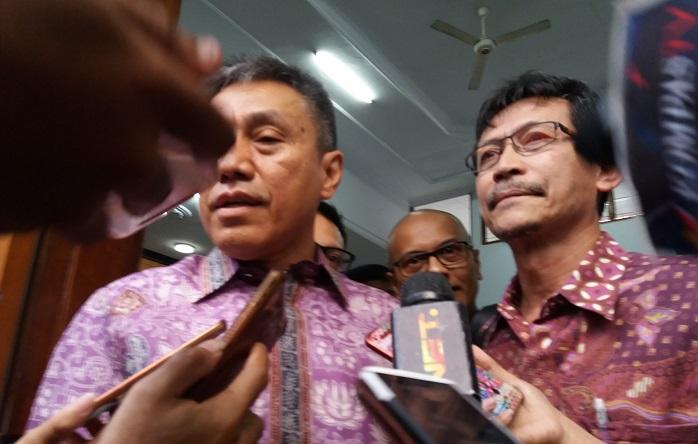 Kuasa HukumSyafruddin Arsyad Tumenggung, Dodi S Abdulkadir. Foto Restu Fadilah/ NusantaraNews.co