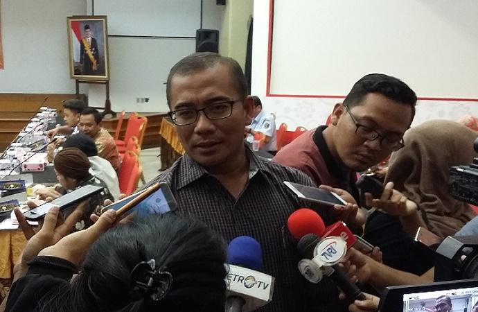 Komisioner KPU Bidang Hukum dan Pengawasan Hasyim Asy'ari. (Foto: Ucok Al Ayubbi/Nusantaranews)