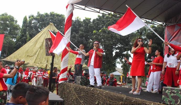 Brigif Para Raider 17 Kostrad gelar lomba HUT RI ke-72. (Foto: Richard Andika/Nusantaranews)
