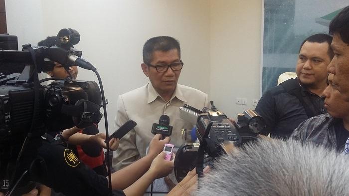 Ketua Pansus Angket KPK Agun Gunandjar. Foto Syaefuddin A/ Ucok Al Ayubbi/ NusantaraNews.co