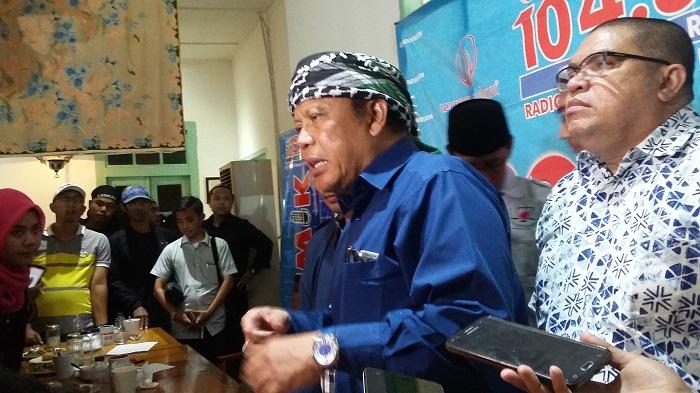Pengacara Senior Egi Sudjana. Foto Ucok Al Ayyubi/ NusantaraNews.co