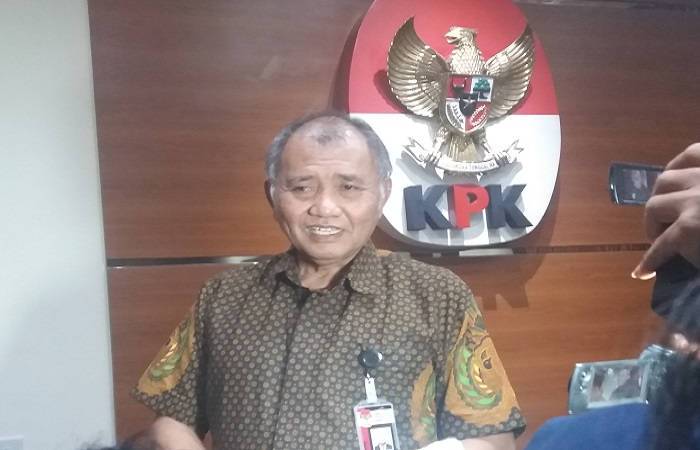 Ketua KPK, Agus Rahardjo. (Foto: Restu Fadilah/NusantaraNews)