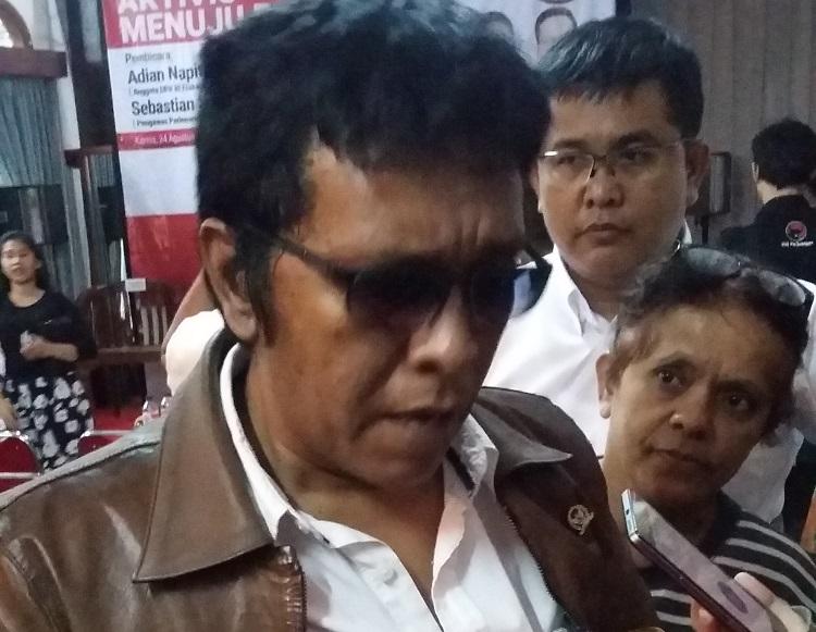 Adian Napitupulu/Foto Ucok A/Nusantaranews