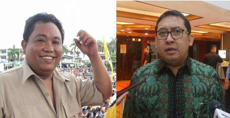 Arief Poyuono dan Fadli Zon/Foto Nusantaranews/Istimewa