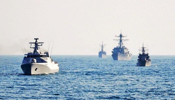 Patroli Armada Kapal Perang TNI Angkatan Laut Indonesia. (Foto: Istimewa)