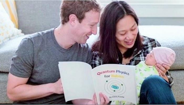 August, Nama Puteri Kedua Mark Zuckerberg. Foto: Dok. Twitter/Istimewa