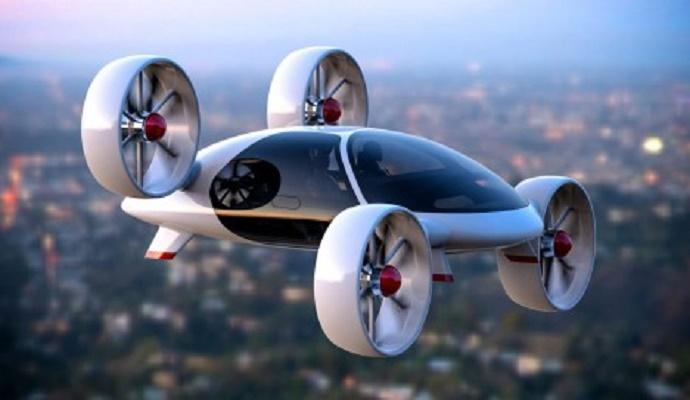 Taksi terbang Rusia yang dikembangkan Bartini. (Press Photo)