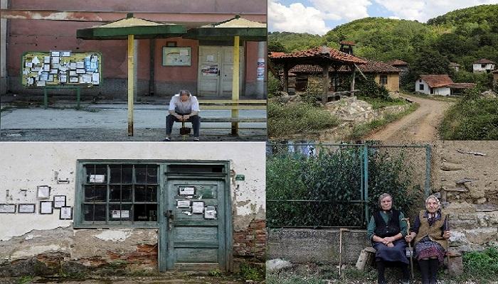 Desa Hantu atau Desan Repusnica di lereng Gunung Stara Planina, Serbia. (Foto: Reuters/NusantaraNews)