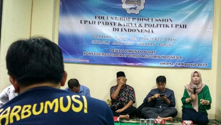 Dialog Konfederasi Sarikat Buruh Muslimin Indonesia (K-Sarbumusi)/Foto Ucok AA/Nusantaranews