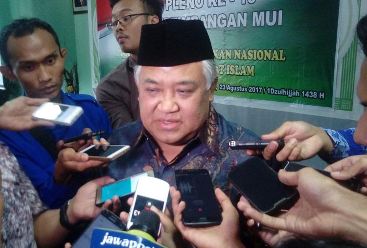 Din Syamsuddin/Foto Andika/Nusantaranews