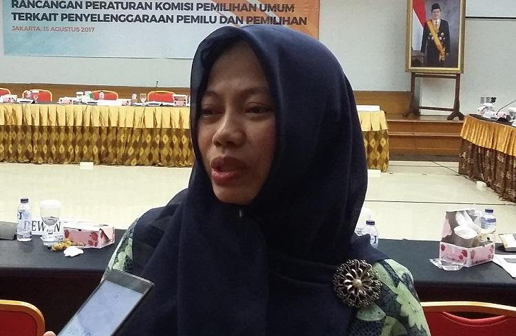Direktur Eksekutif Perkumpulan untuk pemilu dan demokrasi, Titi Anggraeni/Foto Ucok AA/Nusantaranews