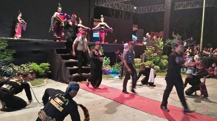estival Jaranan Terbuka Ke 22 di hari jadi Kabupaten Trenggalek. Foto Fery/ NusantaraNews.co