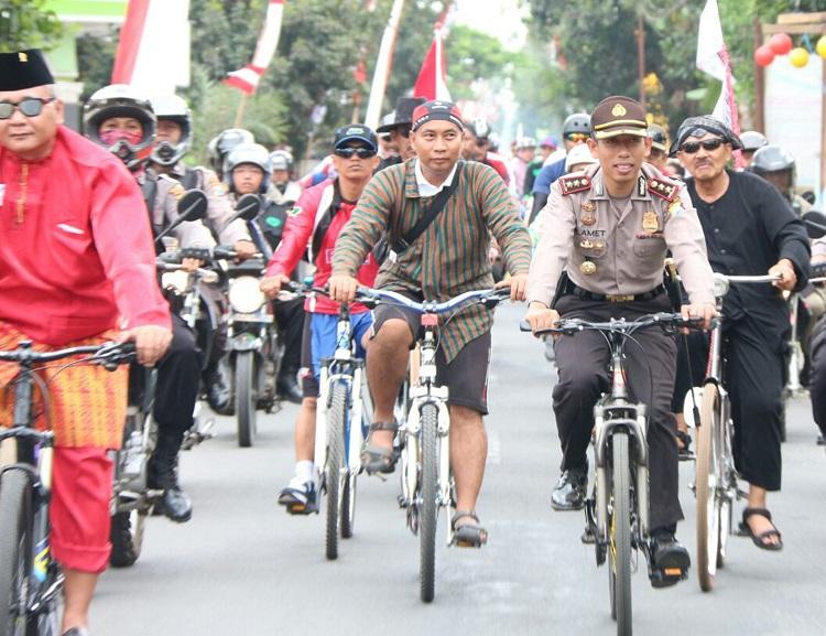 Gowes Nusantara di Blitar/Foto Dok. Pribadi/Nusantaranews