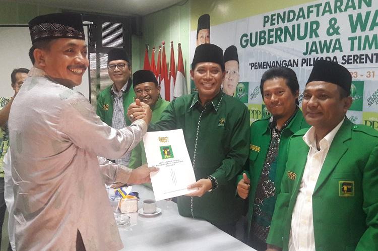 Gus Syaff Daftarkan Diri ke PPP/Foto Yudi/Nusantaranews