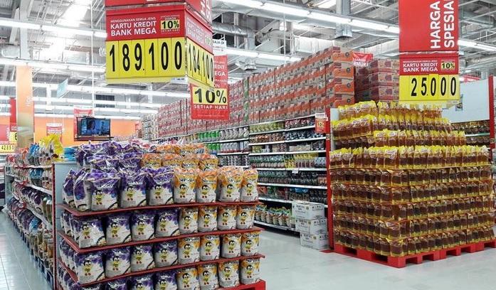 Harga kebutuhan pokok di Mall/Foto via detik/Nusantaranews