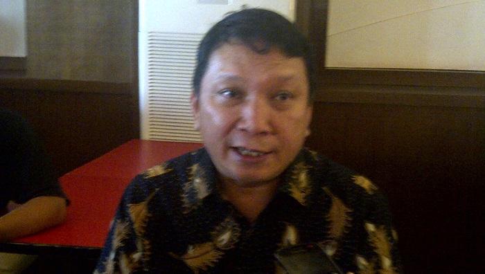 Sekretaris GRIB Jawa Timur Irwanto. Foto Tri Wahyudi/ NusantaraNews.co