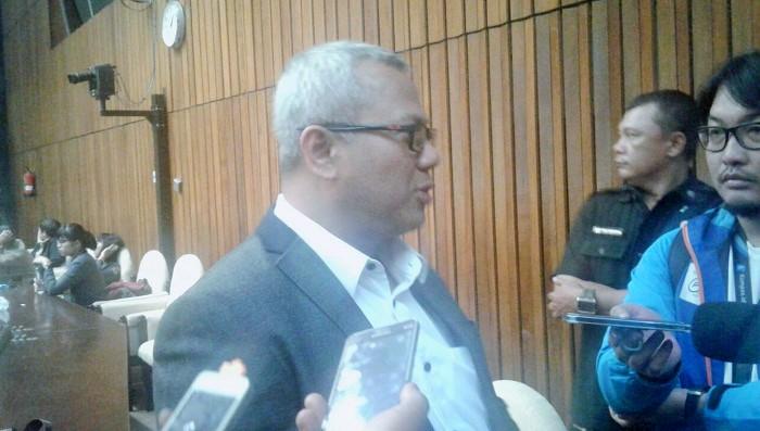 Ketua KPU, Arief Budiman. Foto Ucok Al Ayubbi/ NusantaraNews.co