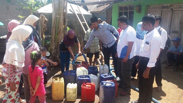 Masyarakat Adat Nusantara Salurkan Air Bersih ke Gunung Kidul. Foto: Dok Matra/ Nusantaranews.co