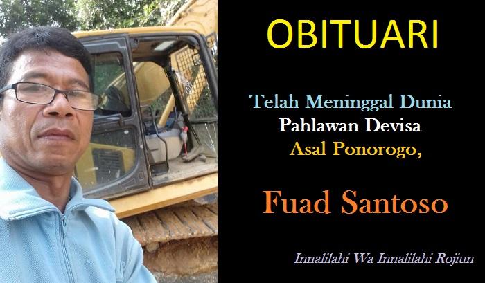 Almarhum Fuad Santoso. (Foto : Dokumen Keluarga)