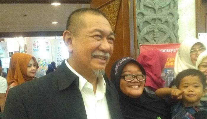 Deddy Mizwar. (Foto: Sulaiman/NusantaraNews.co)
