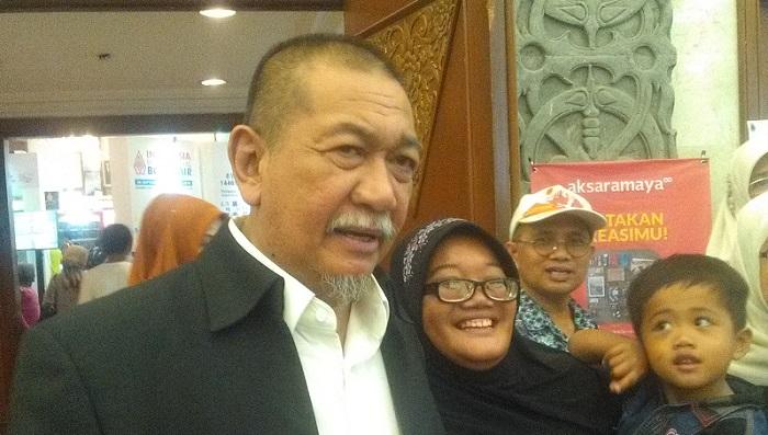 Bakal calon Gubernur Jabar Deddyy Mizwar. Foto Sulaiman/ NusantaraNews.co