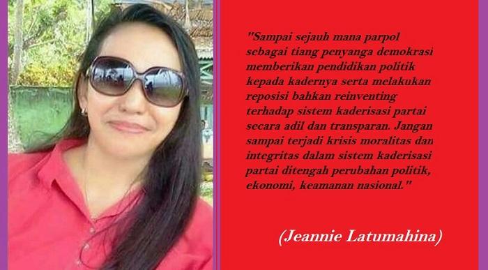 Jeannie Latumahina. Ilustrasi: NUSANTARANEWS.CO