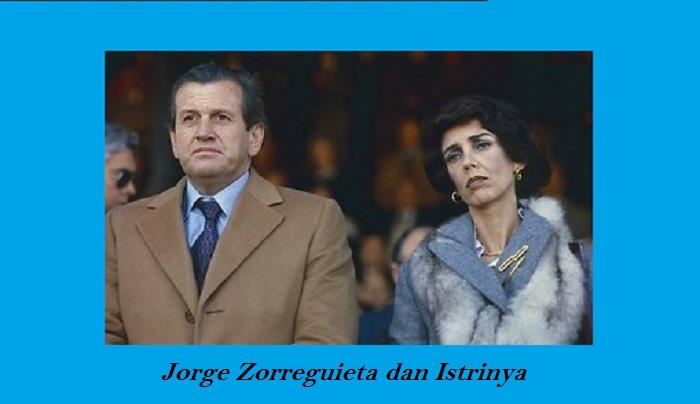 Jorge Zorreguieta dan Istrinya. Foto: AP/Delfi