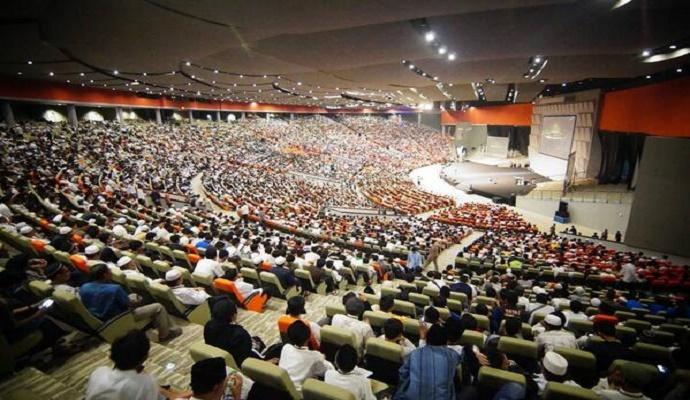 KIP (Konferensi Islam dan Peradaban) HTI di Bogor. (Foto: Istimewa)