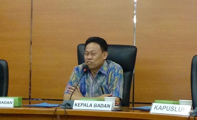 Kepala BPPSDMP Kementan Momon Rusmono/Foto Andika/Nusantaranews