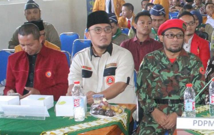 Ketua Umum PP Pemuda Muhammadiyah, Dahnil Anzar Simanjuntak/Foto Nurcolis/Nusantaranews