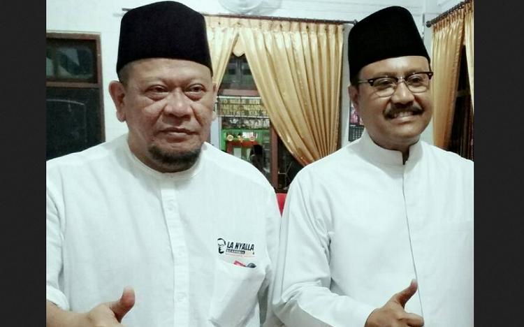La Nyalla dan Gus Ipul/Foto Croup/Nusantaranews