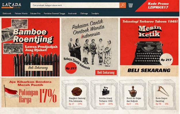 Transformasi Penampakan E-Commerce Indonesia pada Jaman Kemerdekaan. Foto Istimewa