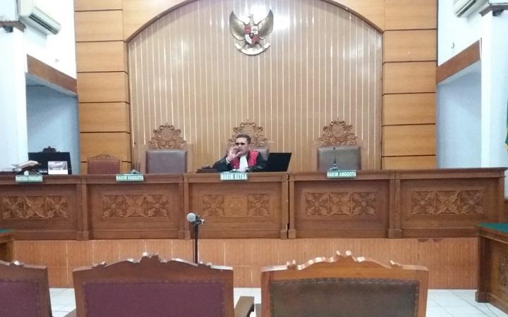 Majelis Hakim Pengadilan Negeri Jakarta Selatan/Foto Restu Fadilah/Nusantaranews