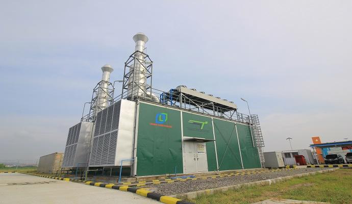 (Ilustrasi) Mesin Pembangkit Listrik Tenaga Mesin Gas (PLTMG). (Foto: Yudhie/Nusantaranews)
