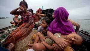 Nasib Muslim Rohingya Foto: Dok EPA/STRINGER