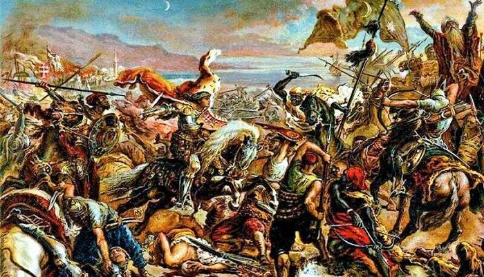 Perang Salib dari sudut pandang Islam. Foto: Snappy Goat