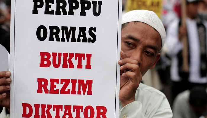 Perppu Ormas/Foto via poskota/Nusantaranews