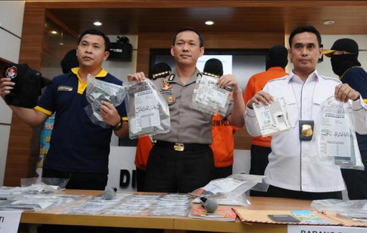 Polisi ungkap kasus saracen/Foto Croup/Nusantaranews