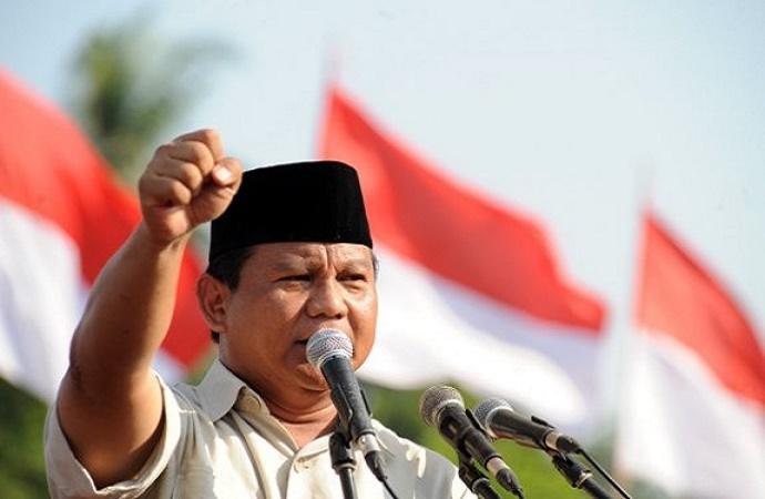 Prabowo Subianto. (Foto: Candra Wiguna)