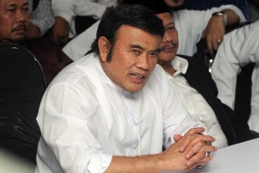 Rhoma Irama/Foto via republika/Nusantaranews
