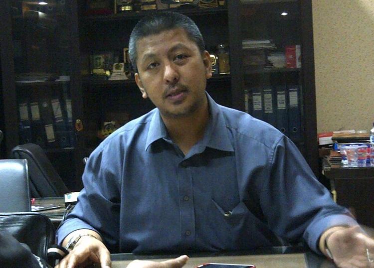 Sekretaris DPD Partai Demokrat, Renvill Antonio/Foto Tri Wahyudi/Nusantaranews