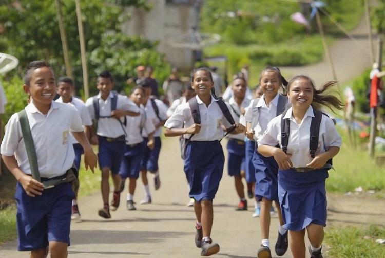 Siswa-Siswi SMP/Ilustrasi/Foto via edupublik/Nusanataranews