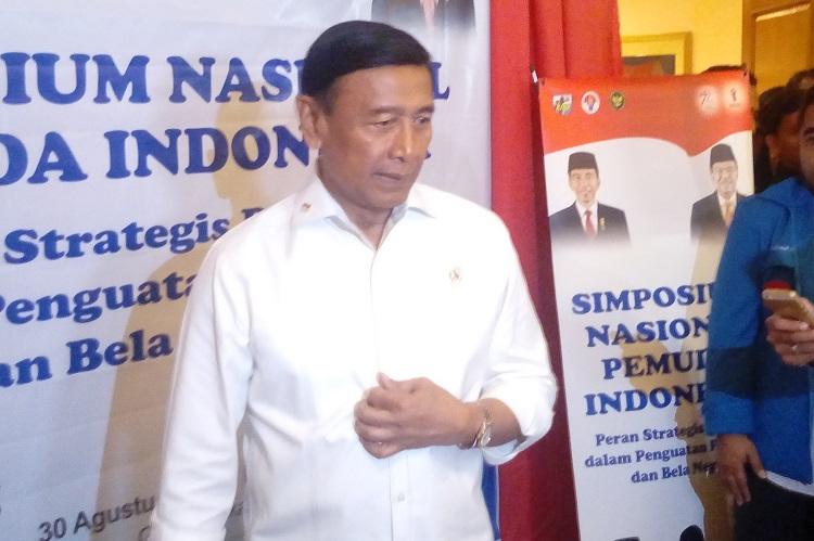 Menteri Koordinator Politik, Hukum dan Keamanan (Menko Polhukam) Wiranto. (Foto: Ricard Andika/Nusantaranews)