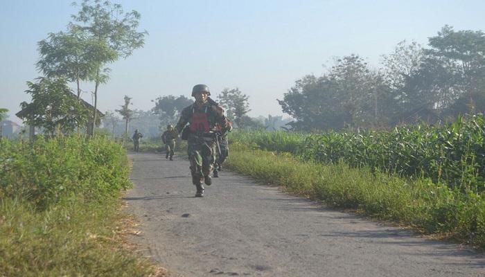 Binjasmil Yonif 511/DY. (Foto: Doni/Nusantaranews)