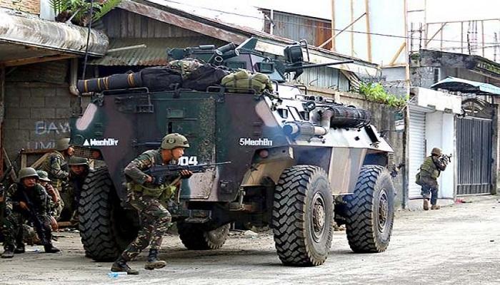 Militer Filipina di Marawi. (Foto: (Erwin Mascarinas/SunStar)