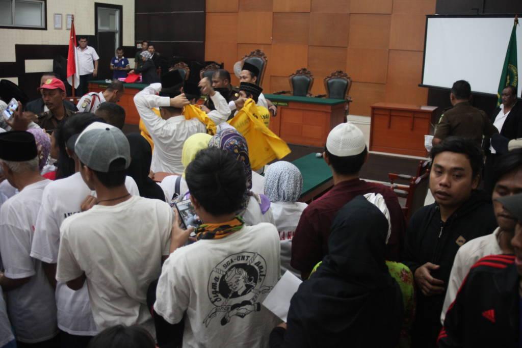 Suasana sidang di Pengadilan Negeri Jakarta Timur. Foto Istimewa/NusantaraNews.co