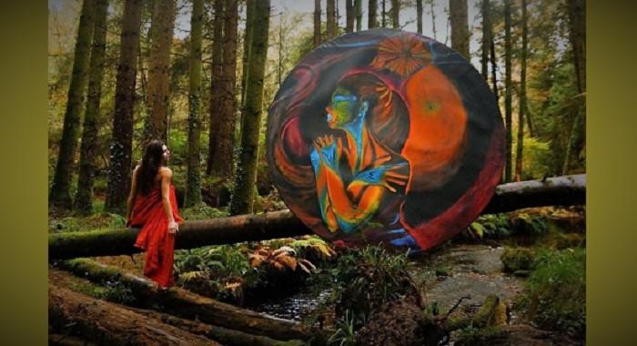 Lukisan Surealis: Dua Dimensi (Ilustrasi). Foto: Chiangrai