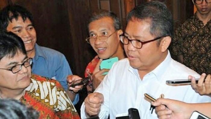 Menteri Komunikasi dan Informatika (Menkominfo), Rudiantara. Foto Richard Andika/ NusantaraNews.co